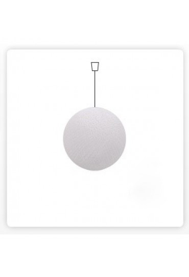 Cotton Ball Lamp, 26 cm