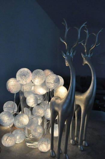 Zdjęcie: Cotton Ball Lights Sverige
