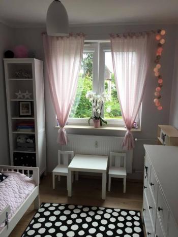 Pokój jednej z córeczek Magdy